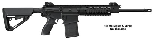 "Sig 716 Patrol Rifle, .308 Win, 16"", 6-Pos Stock, 20rd, Black Hard Coat Anodized"