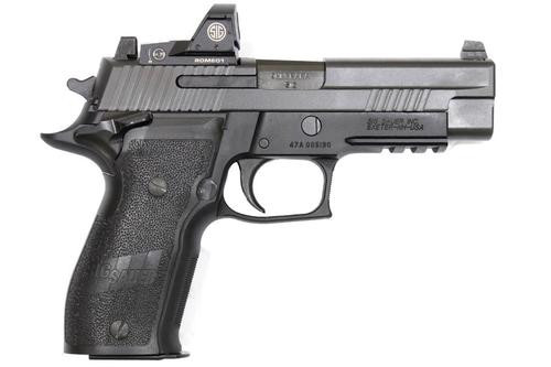 "Sig P226 Elite SAO 9mm, 4.4"",, , Mounted Romeo1 Reflex Sight,  15 rd"