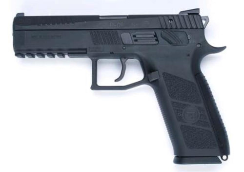 CZ P-09 Duty 9mm Blk 19 Rd Mag Safety Only
