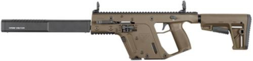 "Kriss Vector Gen II Carbine 9mm 16"" Barrel Defiance M4 Stock Flat Dark Earth 17rds"