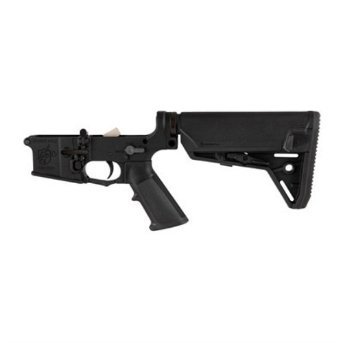 Knights Armament SR-15 Lower Receiver Complete Assembly 223/5.56, Black, Magpul SL-S Stock