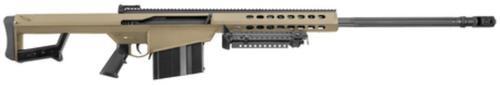 "Barrett 82A1 .416 Barrett 29"" Chrome Lined Fluted Barrel Tan Cerakoted, 10 Rd Mag"