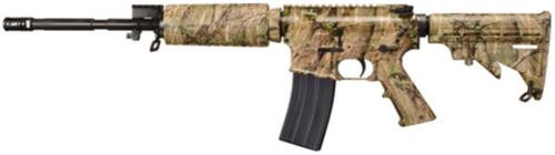 "Windham Weaponry SRC - Camo 5.56 16"" M4 Profile Chrome Lined Barrel, TimberTec Hydrographic Camo 30rd Mag"