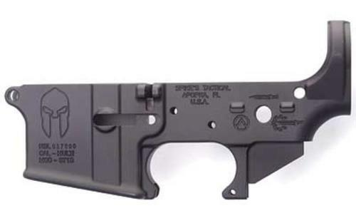 Spikes Lower Receiver Stripped -, Spartan Logo