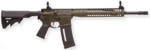 """LWRC M6.8-SPR 6.8mm SPC 16.1"""" Barrel Flash Hider 5/8x24TPI Modular M6 9"""" Rail LWRCI Stock MOE+ Grip Flat Dark Earth 30rd"""