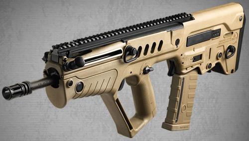 IWI TAVOR SAR Bullpup Rifle - Flattop 5.56 NATO, Flat Dark Earth Stock, 16.5 1:7 Barrel, 30rd Mag