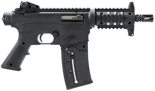 "Mossberg Intl 715P Tactical 22 Ar Pistol Sa 22Lr 6"" Mb,  Synthetic Grip Black,  25 rd"