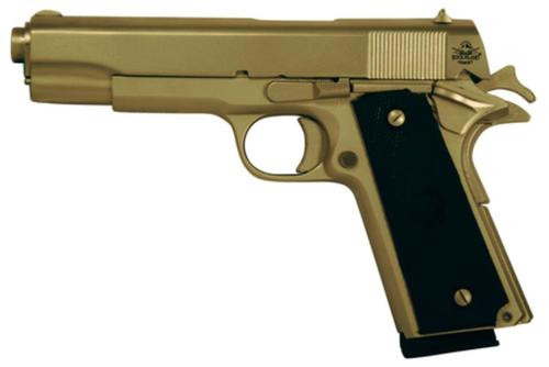 "Rock Island Armory M1911-A1 FS 45 ACP 5"" Barrel Matte Nickel Finish Fixed Sights 8rd"