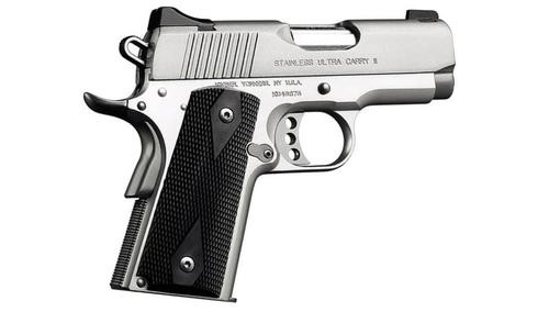 "Kimber Stainless Ultra Carry II, 1911 45ACP, 3"" Barrel, 7 rd, CA Approved"