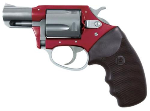 """Charter Arms Undercover Lite, .38 Special +P, 2"""" Barrel, 5rd, Red/Silver"""