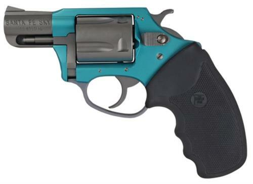 """Charter Arms Sante Fe Undercover Lite, .38 Special +P, 2"""", 5rd, Turquoise/Stainless"""