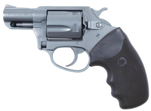 "Charter Arms Undercover, .38 Special, 2"", 5rd, Black Rubber Grip, Stainless"
