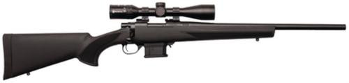 """Howa Mini Action/Panamax Package .222 Remington 20"""" Heavy Blued Barrel Black Synthetic Stock Nikko Stirling Panamax 3-9x40mm Riflescope 10rd"""