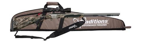 """Traditions Drury Pkg .50 BO 28"""" 3-9x40mm Scope Synthetic MO Treestand Stock"""