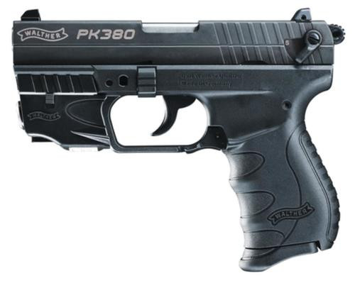 "Walther PK380 .380 ACP, Laser 3.7"" Barrel 8 Round, 1 Mag"