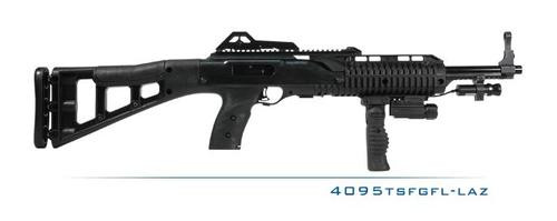 Hi-Point 40SW Carbine, Forward Grip, Light, & Laser