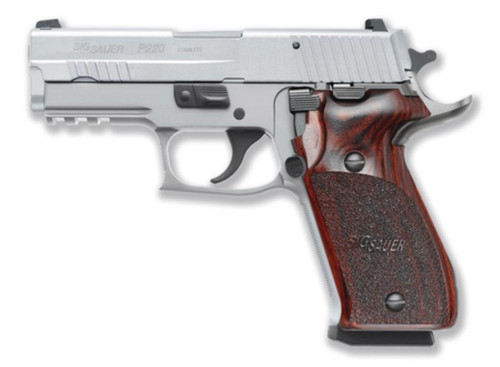 Sig P220 Carry .45FACP Stainless Steel Sig Night Sights