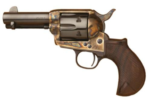 Cimarron Thunderer .45 Long Colt 3.5 Inch Barrel Standard Blue Finish Walnut Grip