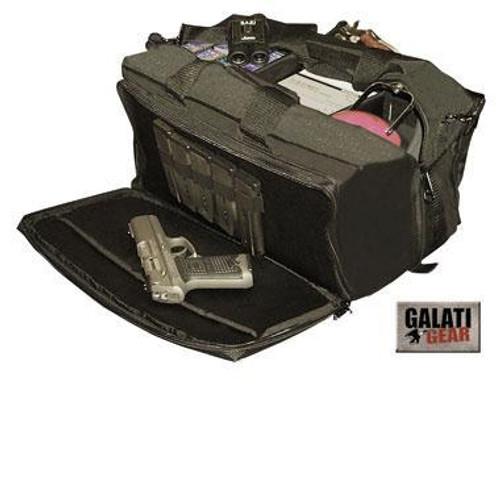 "Galati Super Range Bag, Black, 18x8.5x9"""