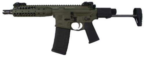 "LWRC IC-PDW SBR 5.56mm /223 8.5"" Barrel, Skirmish Sights 2-Position Stock, Olive Drab Green Finish, 30rd - All NFA Rules Apply"