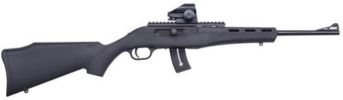 "Mossberg Blaze Semi-Auto Rifle, 22LR, 16.5"", Dead Ringer Green Dot Sight"