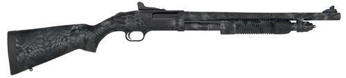 """Mossberg 590A1 Pump 12ga 18.5"""" 3"""" Kryptek Typhon Rcvr Kryptek Typhon Stock"""