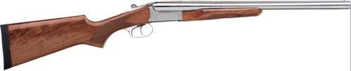 Stoeger Coach Gun Sxs, Aa-Grade Gloss Walnut, Polished Nickel 20 Ga, 20