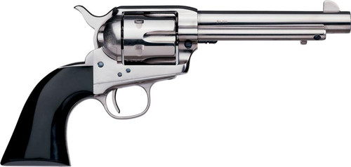 "Uberti 1873 Cattleman Desperado, .45 Colt, 4.75"", Bison Horn/Nickel"
