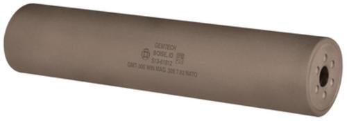 Gemtech Dagger Titanium .300WM 8.8 Inches Black Cerakote Finish Thread Mount 5/8-24 TPI - All NFA Rules Apply