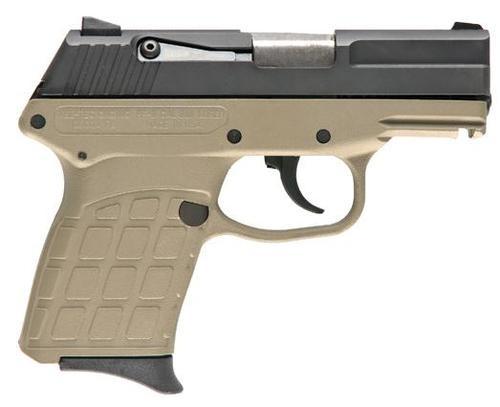 Keltec PF9 9MM 7 Round Semi Auto Pistol Blue/Tan