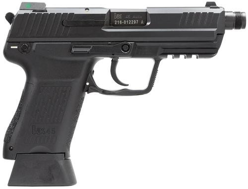 HK HK45 Compact Tactical (V1) DA/SA, safety/decocking lever on left, three 10rd magazines