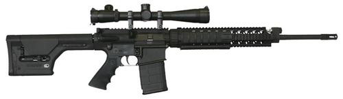 "Armalite AR-10A Super SASS .308 Win/7.62, 20"" Barrel, Black Magpul PRS Stock Black,, rd,  20 rd"