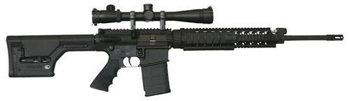 "Armalite AR-10A Super SASS .308 Win/7.62, 20"" Barrel, Black Magpul PRS Stock Black,, rd,  20 rd"