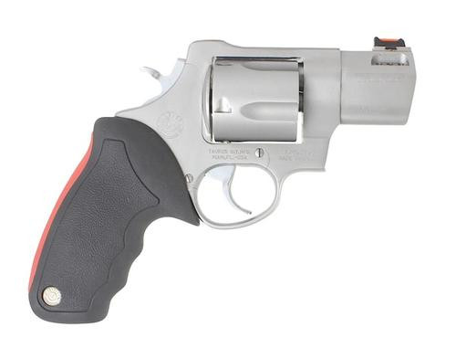 "Taurus 454 Raging Bull 454 Casull 2.25"" Barrel, 5rd Adjustable Sight, Rubber Grip, SS Finish"