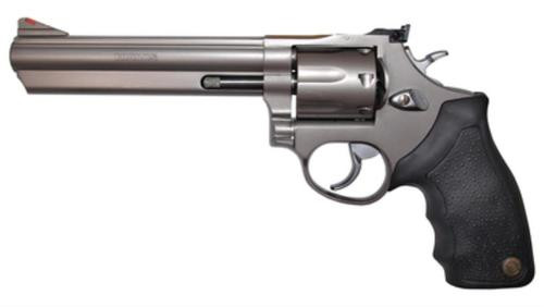 "Taurus Model 66 Standard 357 Mag/38 Spl 6"" Barrel 7rd Adjustable Sight Black Synthetic Grip Matte SS"