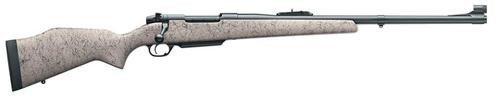 """Weatherby Mark V Dangerous Game .458 Win Mag, 24"""" Barrel, Synthetic Blue"""