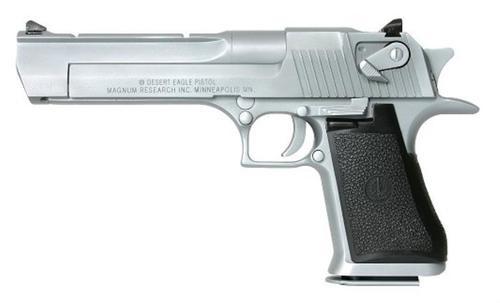 "Magnum Research Desert Eagle Mk XIX 44Mag 6"" Barrel, Black Synthetic Matte Chrome, 8rd"