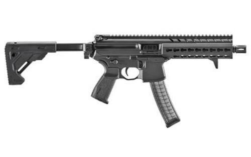 Sig MPX 9MM SBR 8IN PDW Semi Collapsible AL KM HG (1) 30Rd MAG Handstop