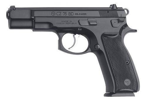 CZ 75 BD 9mm, Black, CA Compliant, 10rd