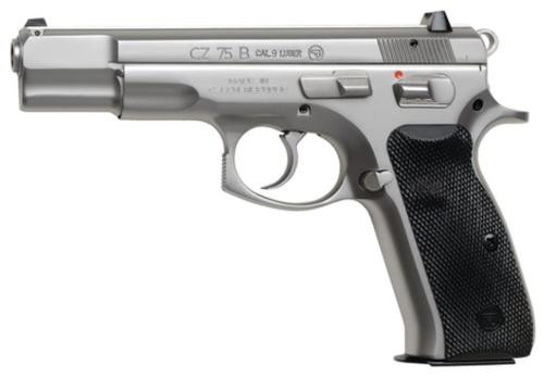 CZ 75B 9mm Polished Stainless Steel 16 Rd Mags