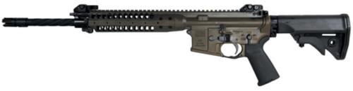 "LWRC Improved Carbine Enhanced Rifle 5.56/223 16"" Helical Fluted Barrel Patriot Brown 30 Rd Mag"
