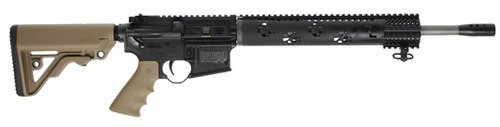 "Rock River Arms LAR-15M Fred Eichler Predator AR-15, 16"" Barrel, .223 Wylde, Tan/Black"