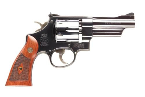 Smith & Wesson 27 Classic, 357 Mag, Blue, Walnut Grip