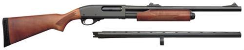 Remington 870 Exprs Super Mag Combo Pump 12 Gaa 26/20 3.5/3 Wood Stock Black