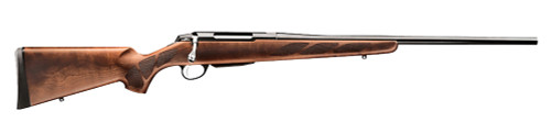 Tikka T3 Hunter 6.5x55mm Swedish 22 Barrel Blue Finish Walnut Checkered Stock