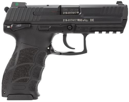 """HK, P30S, Semi-automatic, DA/SA, 40 S&W, 3.85"""" Barrel, Black, Interchangeable Grip Panels, Ambidextrous Mag Release and Decocker/Safety, Night Sights, 13Rd, 3 Magazines"""