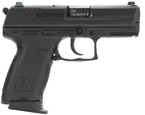 HK P2000 (V2) LEM DAO, three 12rd magazines and night sights