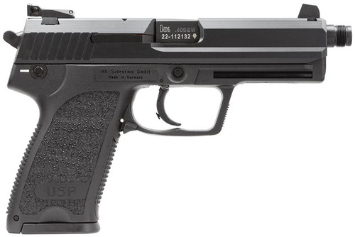HK USP40 Tactical (V1) DA/SA, safety/decocking lever on left, three 13rd magazines and adj. night sights