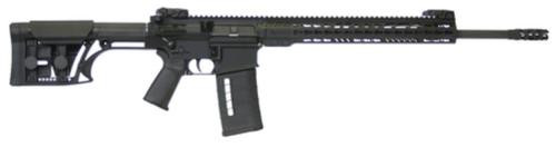 "Armalite AR-10 Tactical With Adjustable Stock 7.62x51mm 20"" Barrel MBA-1 Light Weight Precision Adjustable Stock Black 25rd"