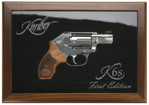 Kimber K6S Revolver, 1st Edition.357 Magnum, Case